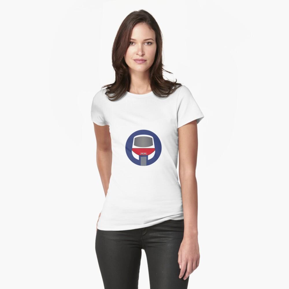 Monorail Logo Womens T-Shirt Front