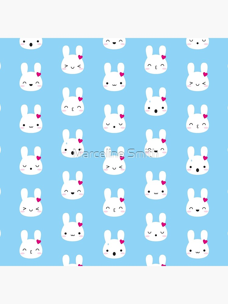 Kawaii Bunny Emotions by marcelinesmith