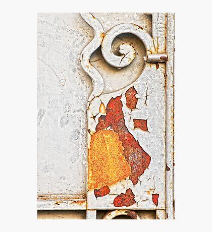 Gate detail Photographic Print