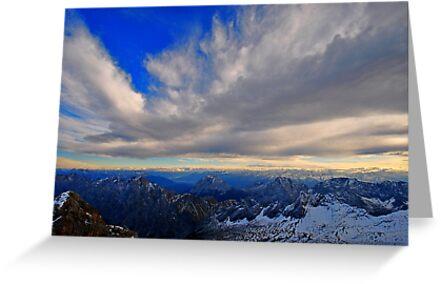 Sky and Mountain by Daidalos