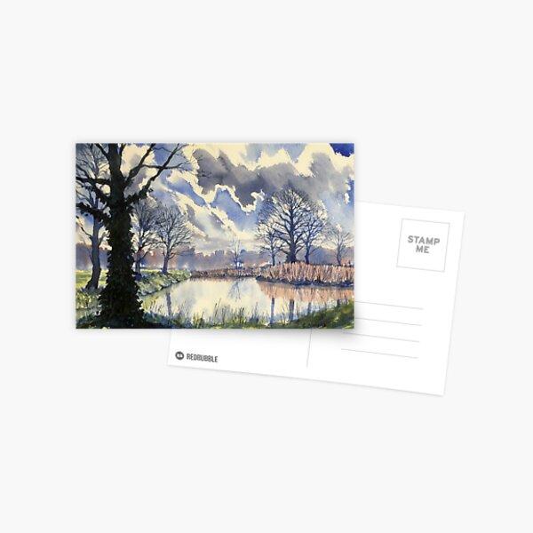 Wetlands in Early Spring Postcard