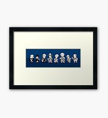 The classic doctors Framed Print