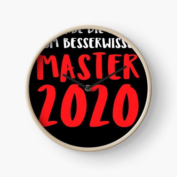 Ich Habe Die Lizenz Zum Besserwissen Master 2020 Uhr