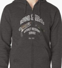 Bering and Wells  Zipped Hoodie
