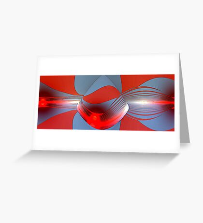 Twisted Sunset Greeting Card