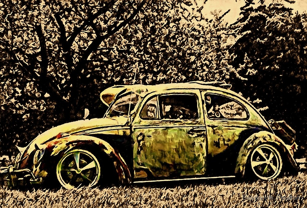 Autumn leaves by Beetle-Ink  Poulton