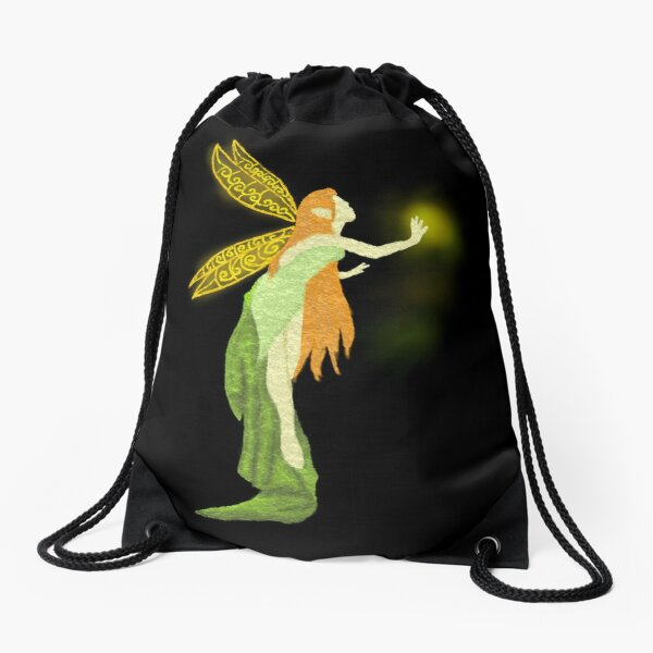 Fairy Drawstring Bag
