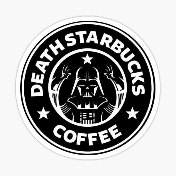 starwars coffee design Sticker