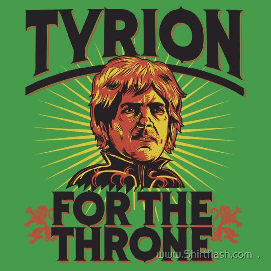 TShirtGifter presents: Tyrion Game of Thrones Shirt