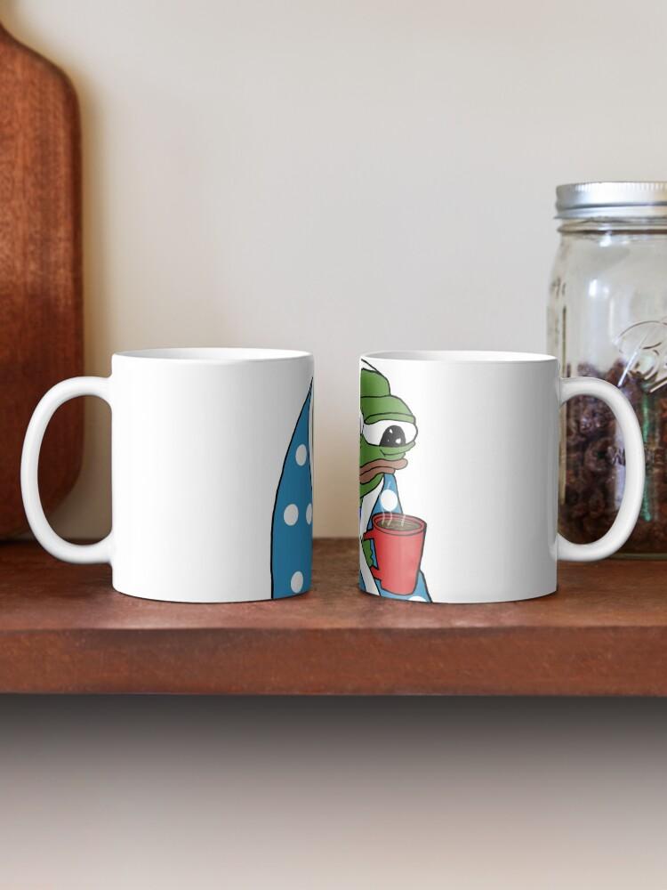 Alternate view of Coffee Peepo  Mug