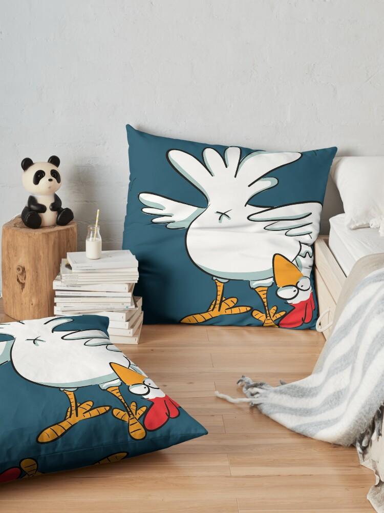 Alternate view of Chicken butt Floor Pillow