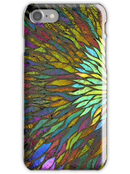 Nebula iPhone Case by Leslie Guinan