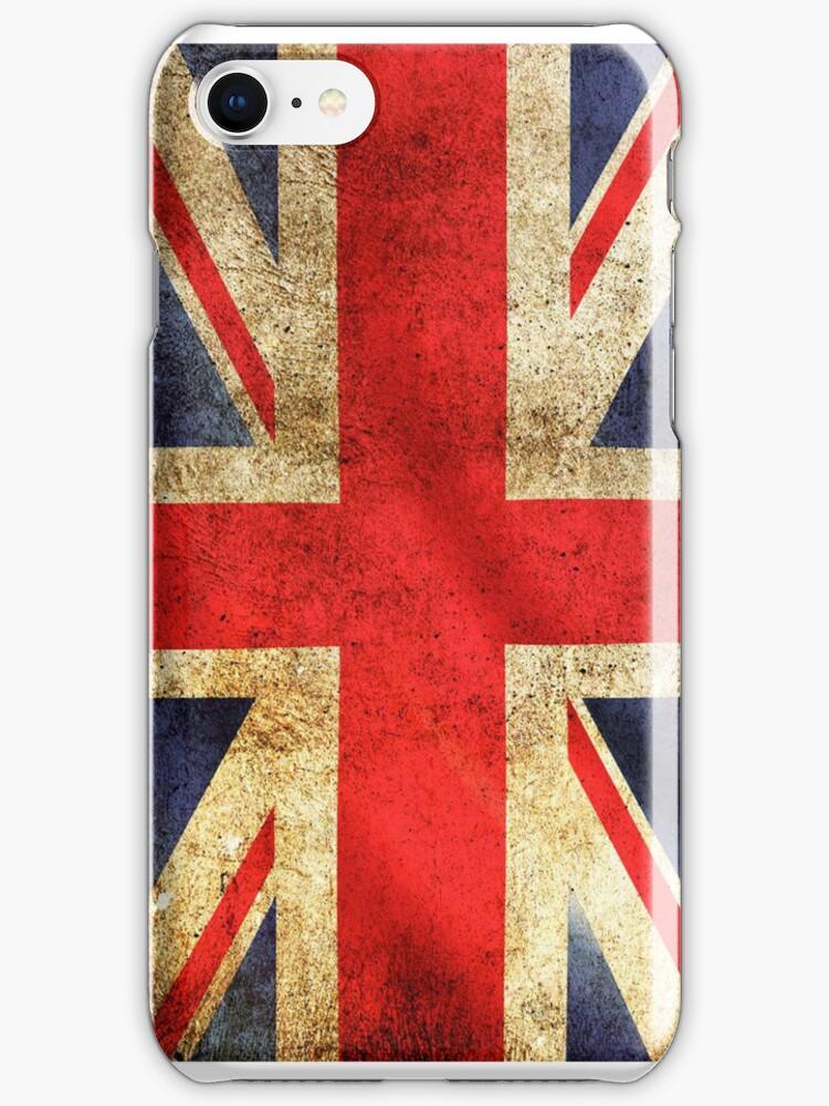 UK Flag - Battleworn by SOIL