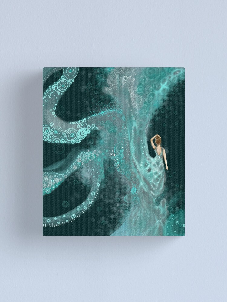 Alternate view of The Water Nymph Canvas Print