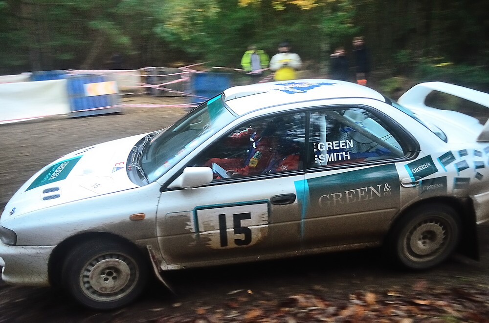 Subaru Impreza Tempest Rally by Willie Jackson