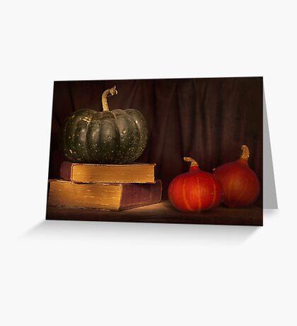 Autumn prose Greeting Card