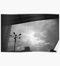 Kunming Abstract sky view Poster