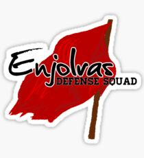 Enjolras Defense Squad Sticker
