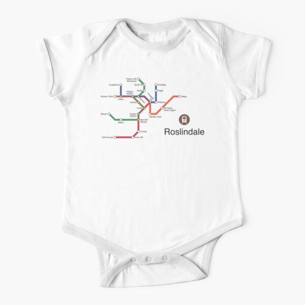 Roslindale Short Sleeve Baby One-Piece