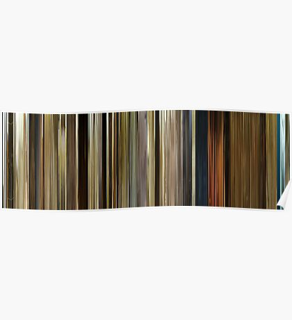 Moviebarcode: O Brother, Where Art Thou? (2000) Poster