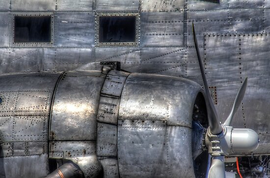 Aluminum Skin -- Douglas DC-3 Up Close by Bill Wetmore