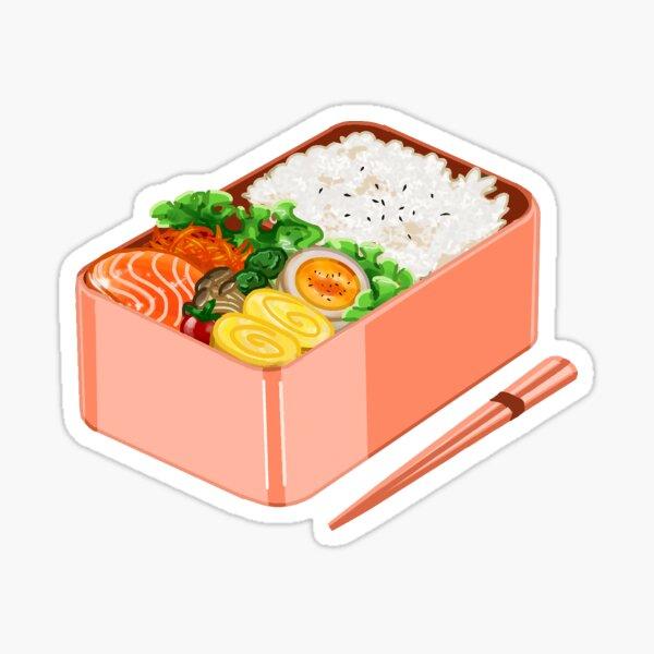 Pink Bento Box Sticker