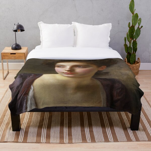 Portrait Throw Blanket
