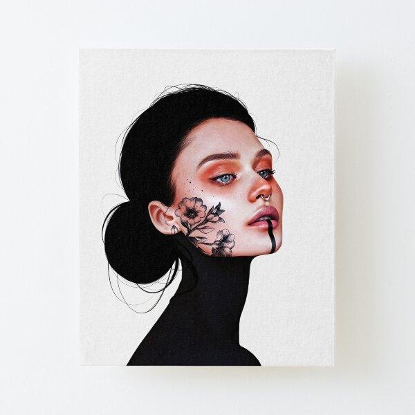 Nicole Canvas Mounted Print