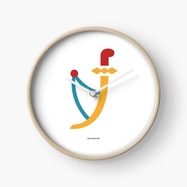 Asso di spade Clock