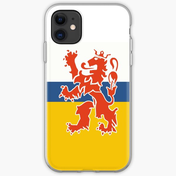 Limburg Flag Stickers, Gifts and other Products iPhone Soft Case