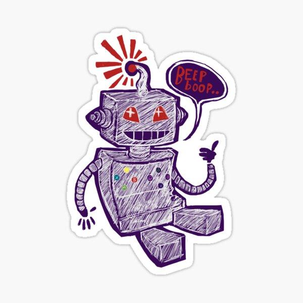 Beep Boop! Sticker