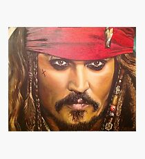 Johnny Depp as Jack Sparrow Photographic Print