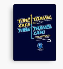 Time Travel Cafe Canvas Print