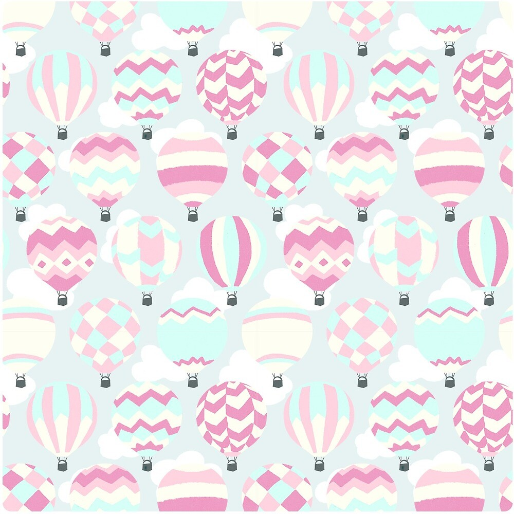 hot air balloon pattern by Orly Gonsalves