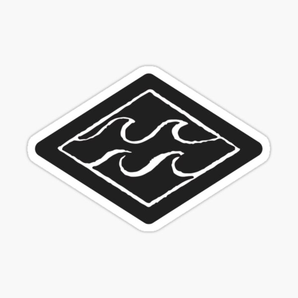 Billabong Wave Diamond Sticker