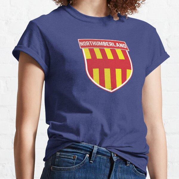 NORTHUMBERLAND Britain England Shield Flag UK Sticker & T-Shirt 1 Classic T-Shirt