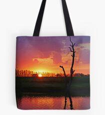 Sunset at Elmore Tote Bag