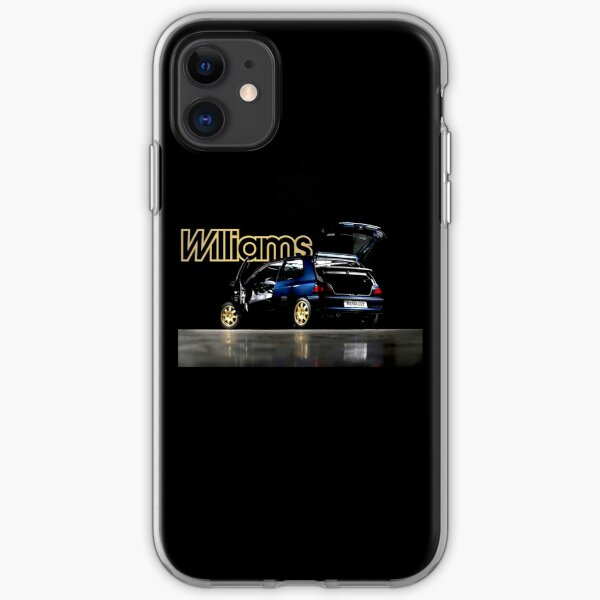 RENAULT CLIO WILLIAMS iPhone Flexible Hülle