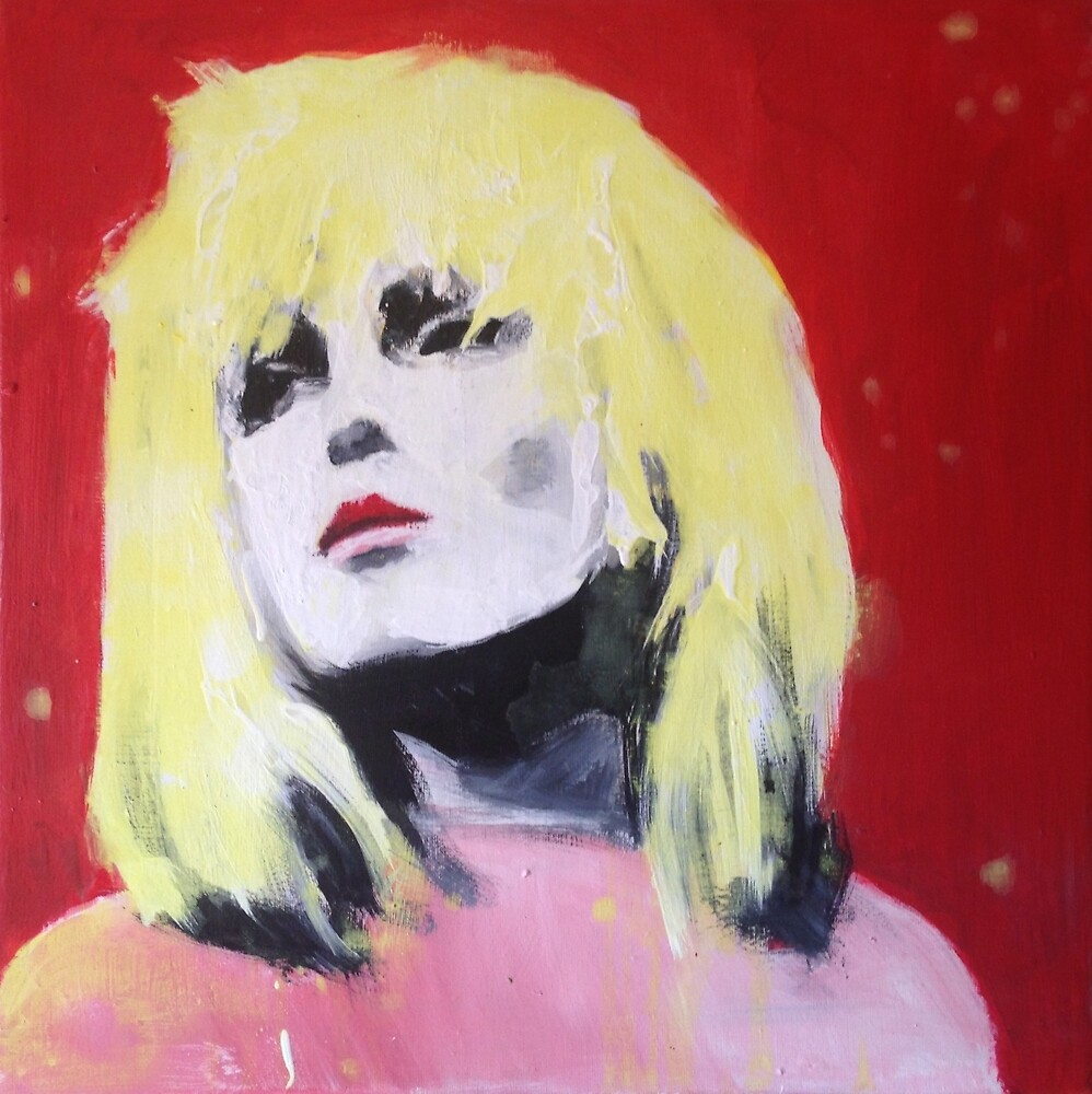 Blondie Pop Art Painting by William Wright by William Wright