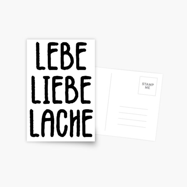 flat German saying Du T\u00f6ffel Postcard