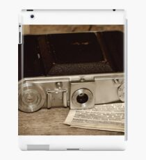 Old Camera iPad Case/Skin