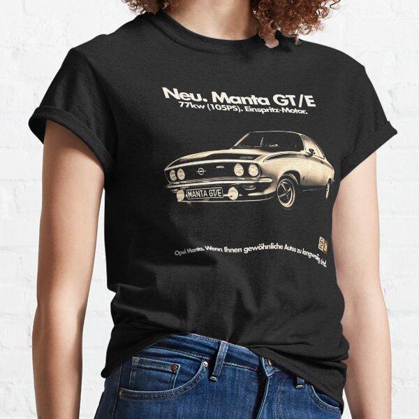 OPEL MANTA GT/E Classic T-Shirt