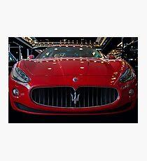 Maserati  Photographic Print