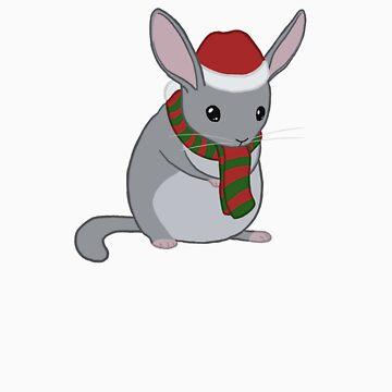 Christmas Chinchilla by soyrwoo