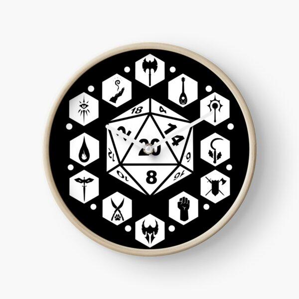 RPG Classes - White Clock
