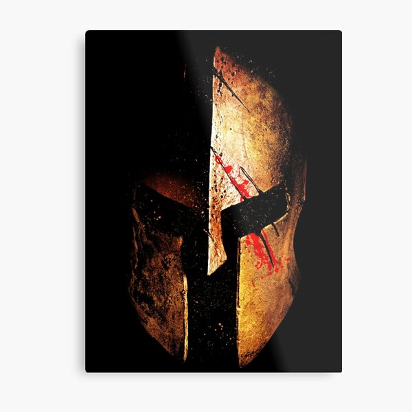 Spartan V.II Metal Print