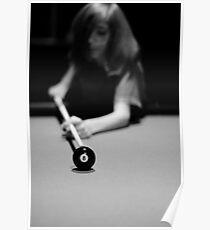 Keep your eye on the ball (Pool Series) Poster