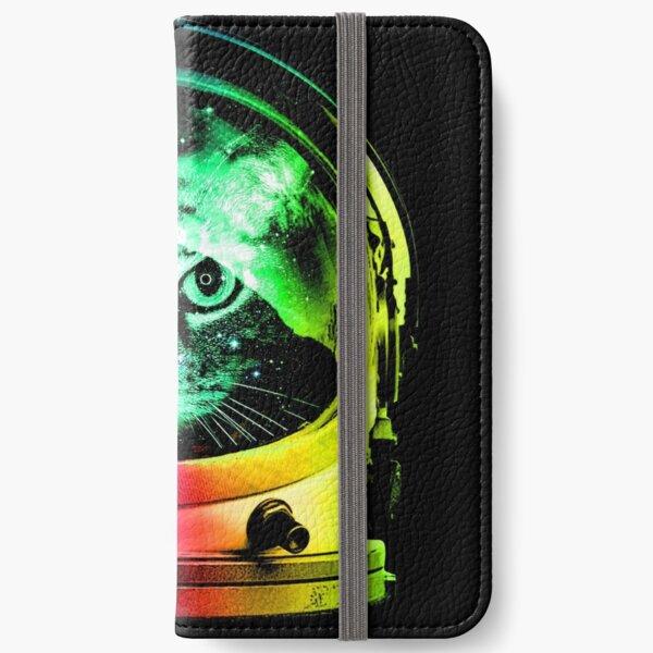 Astronaut Cat iPhone Wallet
