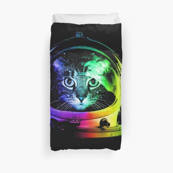 Astronaut Cat Duvet Cover