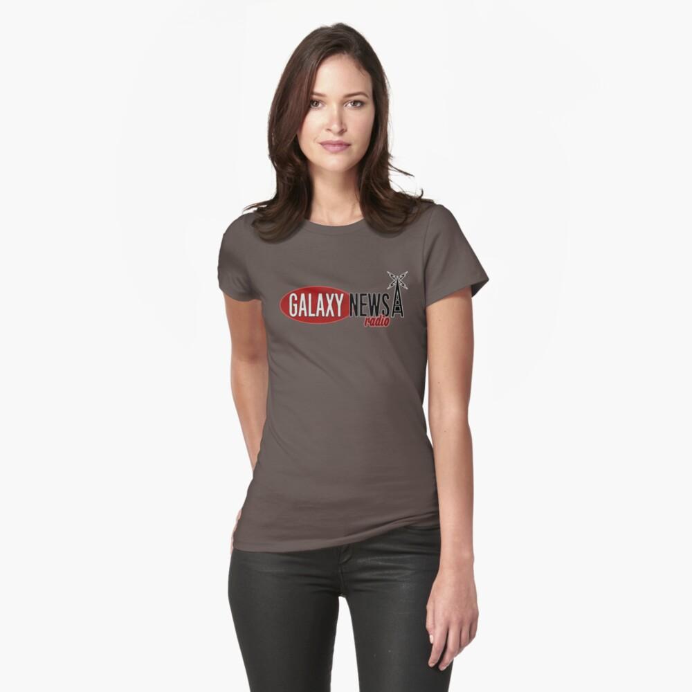 Galaxy Nachrichten Radio Logo Tailliertes T-Shirt